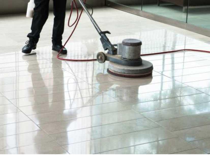 Diamond Floor Polishing